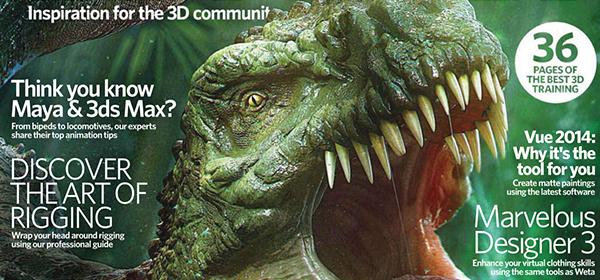 3D Artist Magazine : Expert Renders by Iliya Atanasov