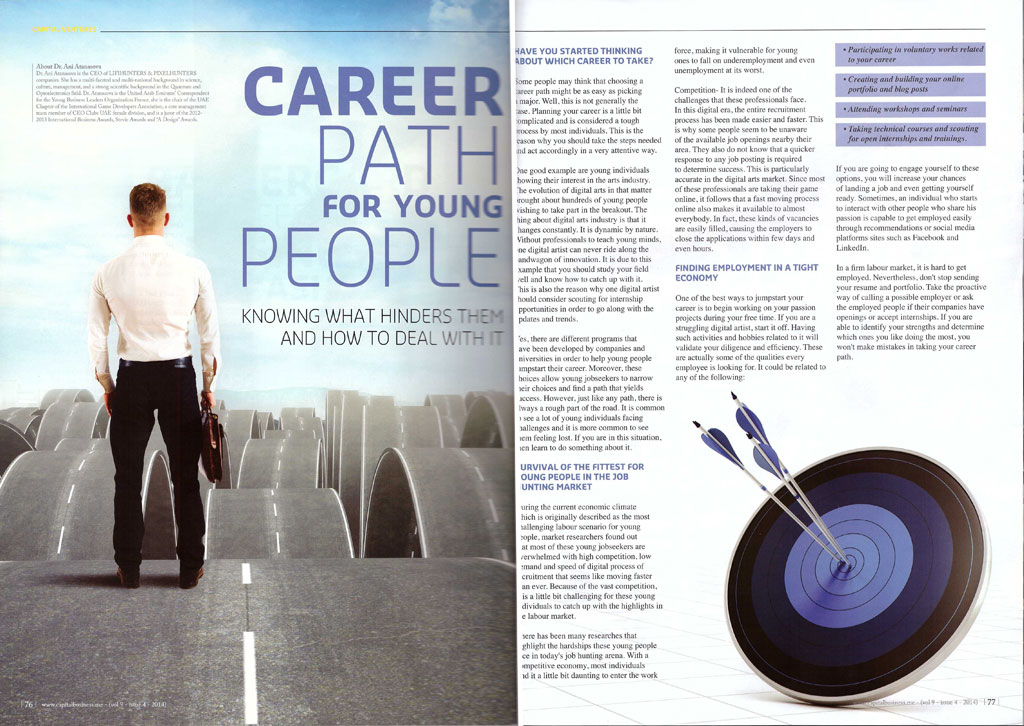 Career path for young people