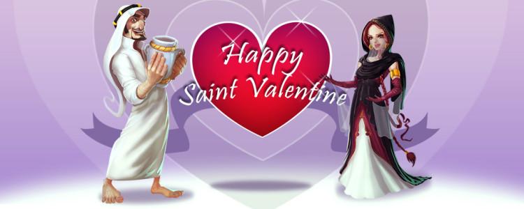 saint valentine web site