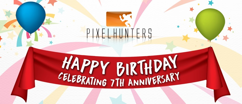 Pixelhunters 7th Anniversary Celebration
